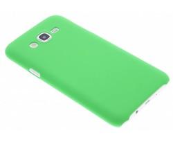 Groen effen hardcase hoesje Samsung Galaxy J7