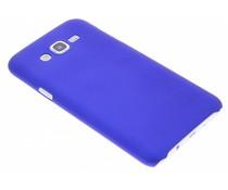 Blauw effen hardcase hoesje Samsung Galaxy J7
