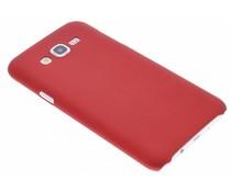 Rood effen hardcase hoesje Samsung Galaxy J7