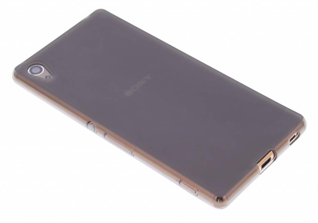 Grijs hard siliconen hoesje voor de Sony Xperia Z3 Plus