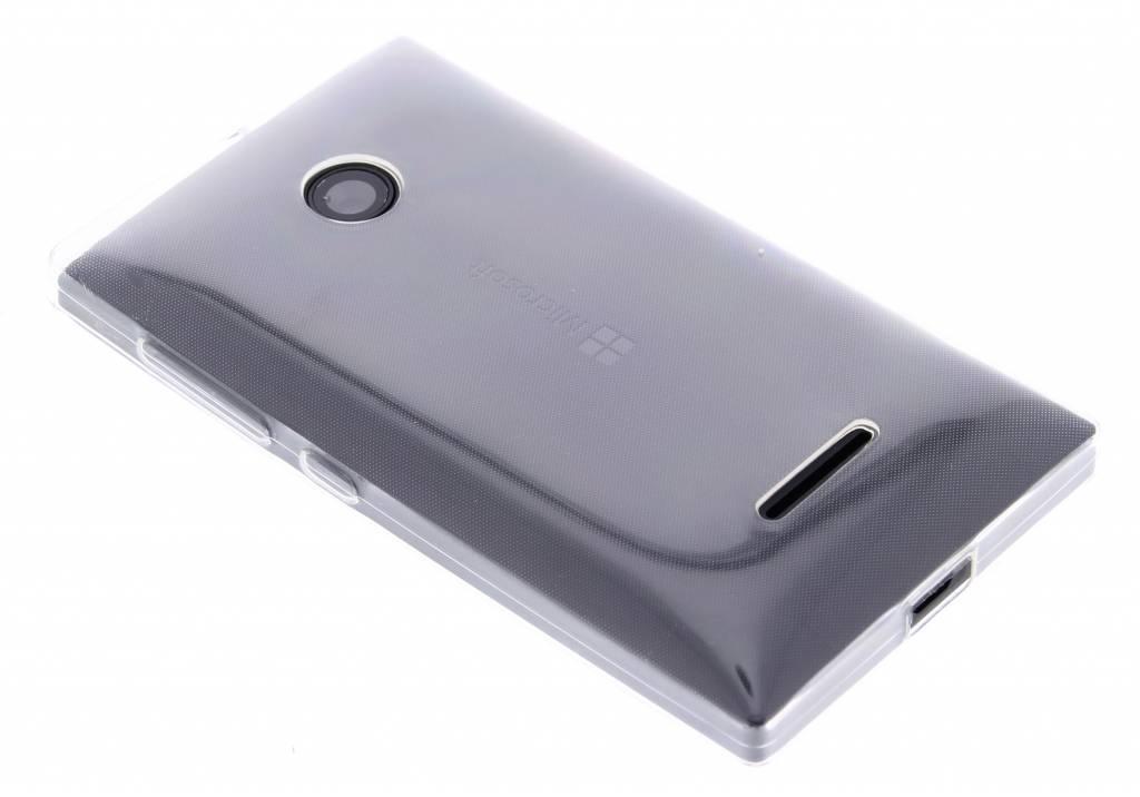 Ultra thin transparant TPU hoesje voor de Microsoft Lumia 435