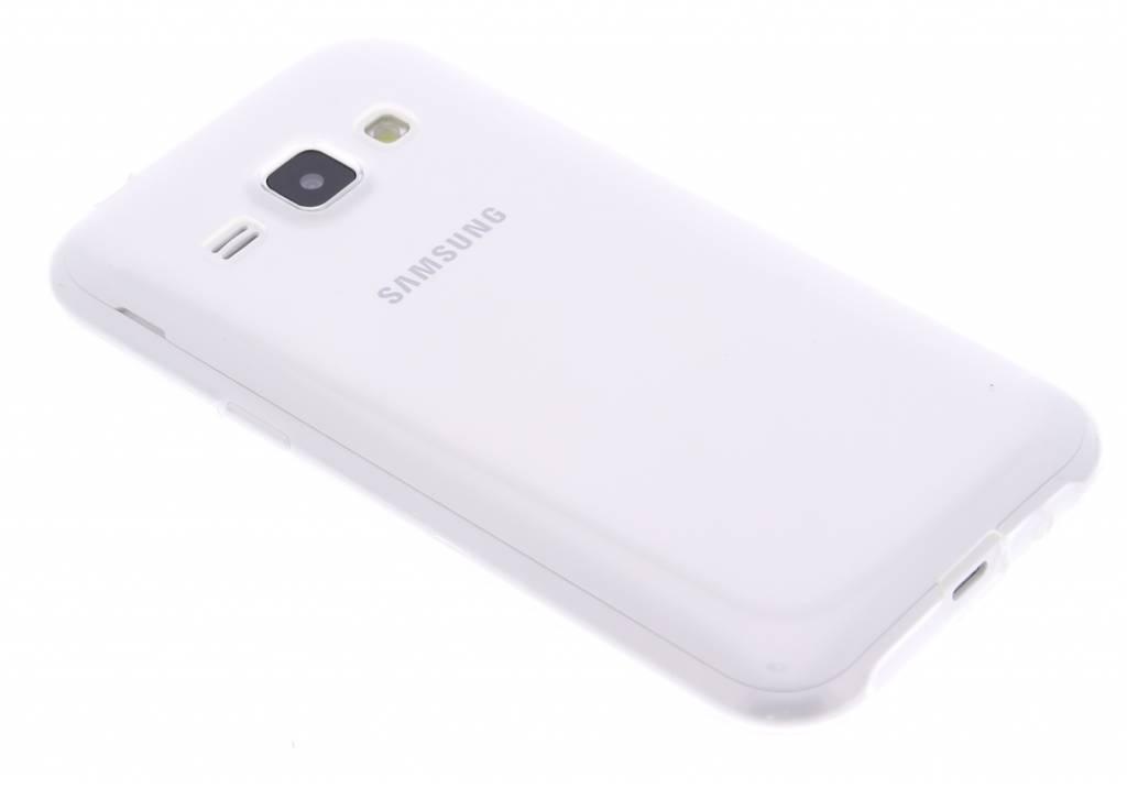 Ultra thin transparant TPU hoesje voor de Samsung Galaxy J1