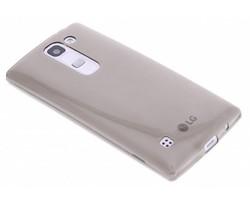 Grijs ultra thin transparant TPU hoesje LG Spirit