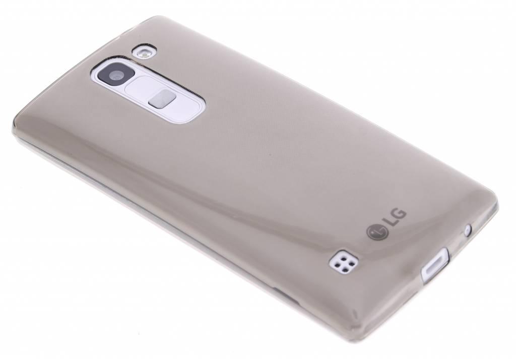 Grijs ultra thin transparant TPU hoesje voor de LG Spirit