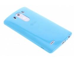 Blauw ultra thin transparant TPU hoesje LG G3