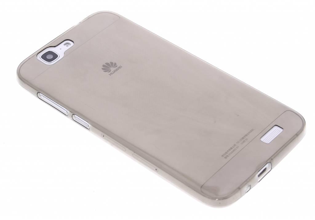 Grijs ultra thin transparant TPU hoesje voor de Huawei Ascend G7