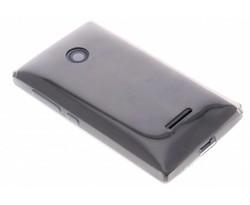 Grijs ultra thin transparant TPU hoesje Lumia 532