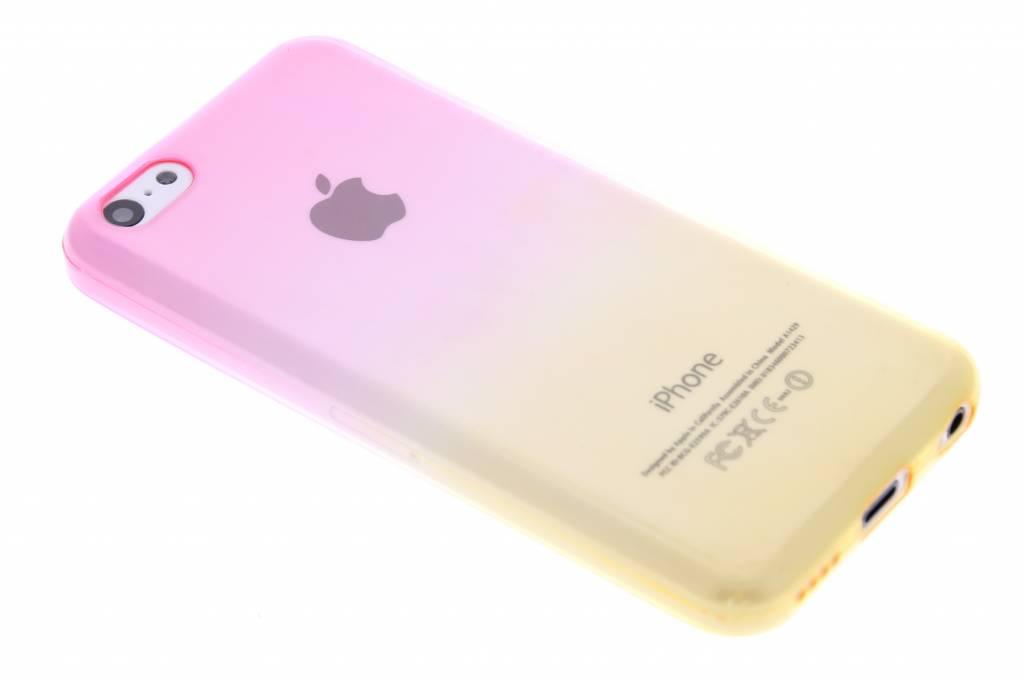 Bicolor Rose / Jaune Étui En Silicone Tpu Transparent Pour Sony Xperia Z3 Compact Gcg8hiAMAO