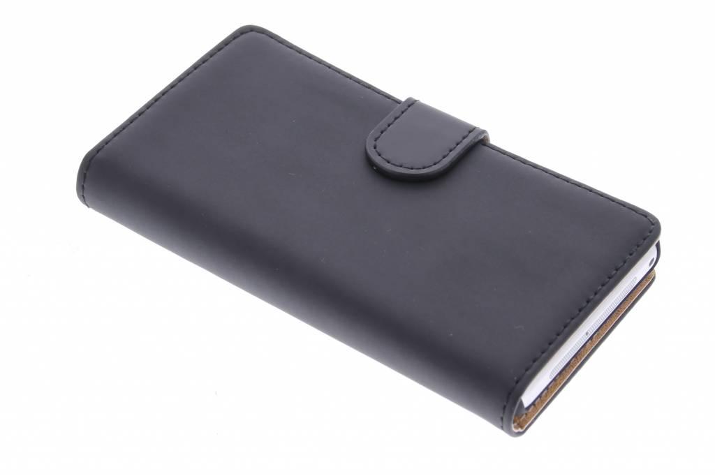 Selencia Luxe Book Case voor de Sony Xperia Z1 Compact - Zwart