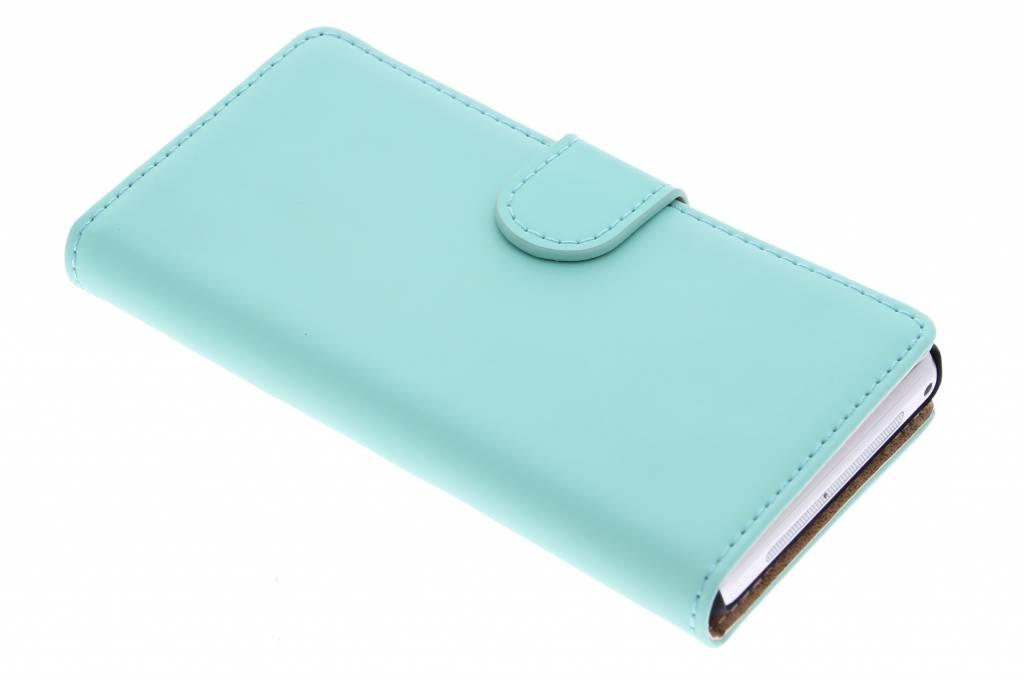 Selencia Luxe Book Case voor de Sony Xperia Z1 Compact - Mintgroen