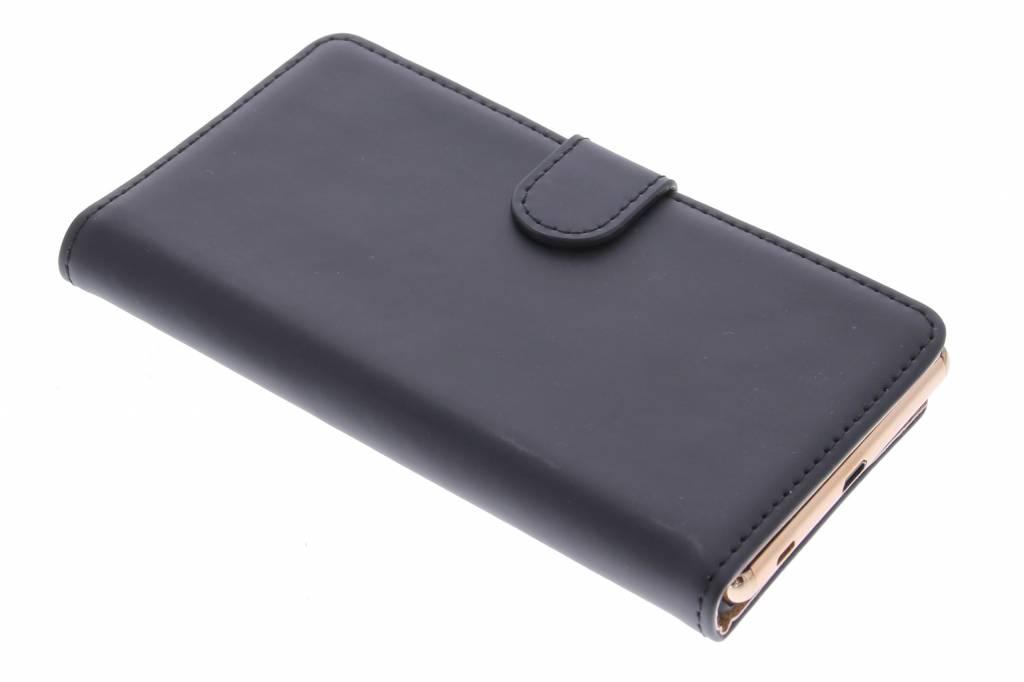 Selencia Luxe Book Case voor de Sony Xperia Z3 Plus - Zwart