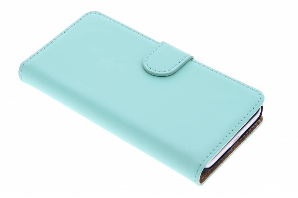 Selencia Luxe Book Case voor de Huawei Ascend Y550 - Mintgroen