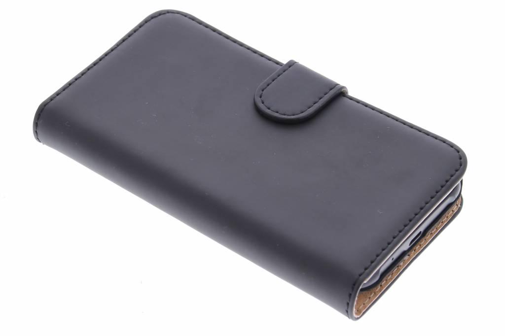 Selencia Luxe Book Case voor de Samsung Galaxy J1 - Zwart