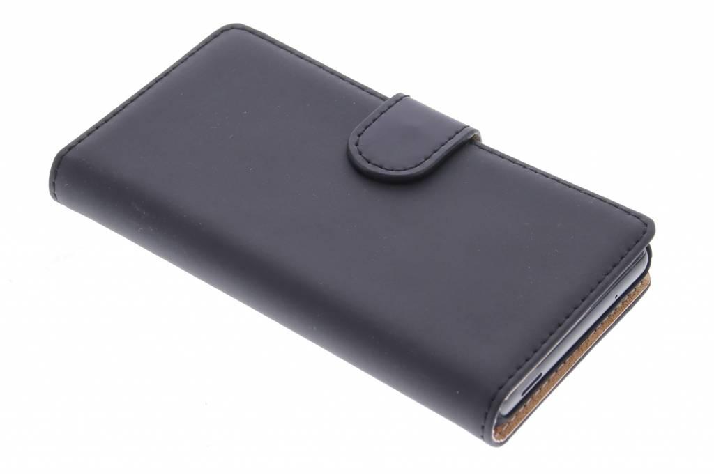 Selencia Luxe Book Case voor de Sony Xperia Z3 Compact - Zwart
