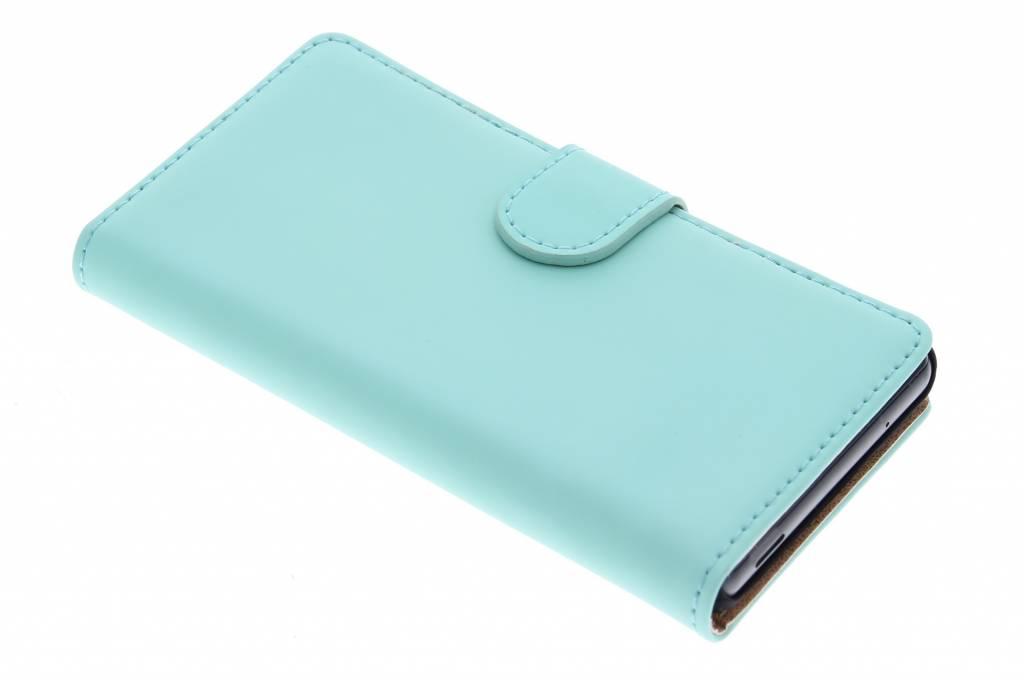 Selencia Luxe Book Case voor de Sony Xperia Z3 Compact - Mintgroen
