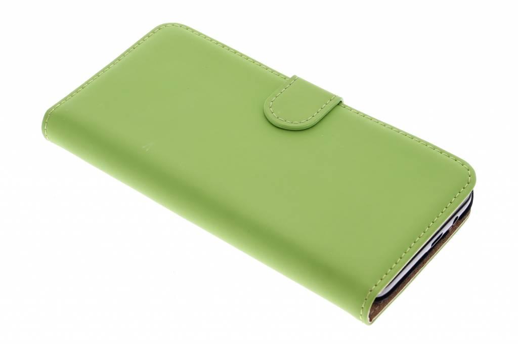 Selencia Luxe Book Case voor de HTC One M9 Plus - Groen