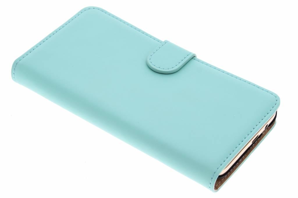 Selencia Luxe Book Case voor de HTC One M9 Plus - Mintgroen