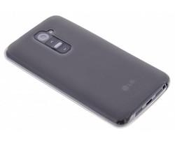 Grijs hard siliconen hoesje LG G2