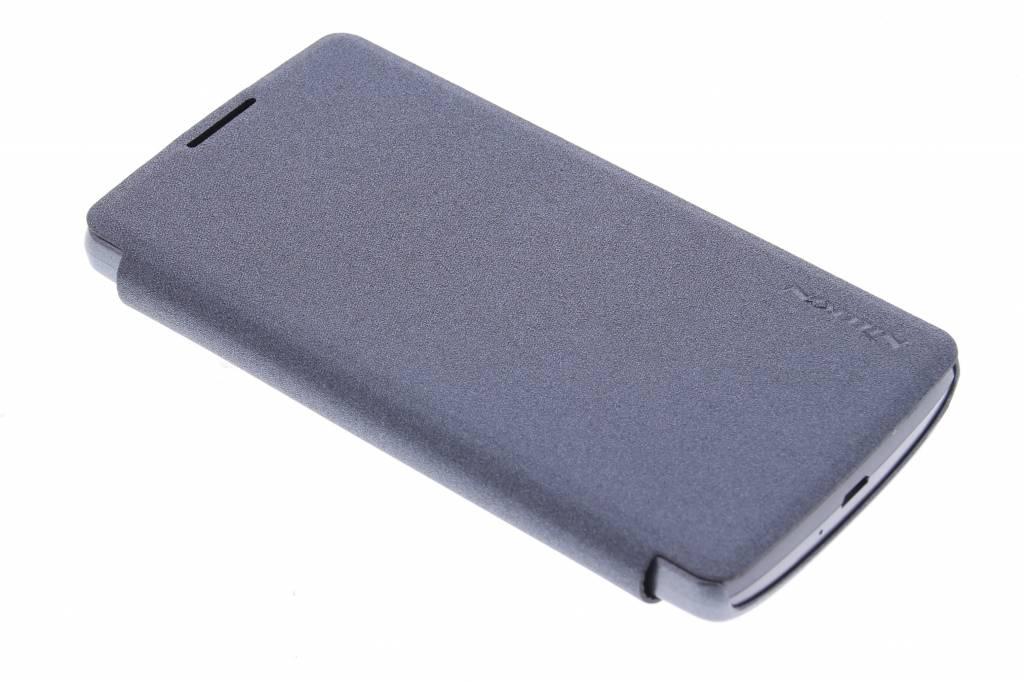Nillkin Sparkle Slim booktype voor de LG Leon - Zwart