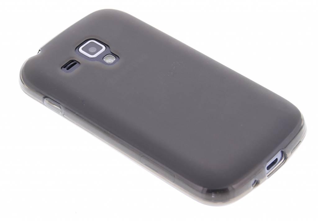 Grijs hard TPU hoesje voor de Samsung Galaxy S Duos / Trend (Plus)