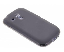 Grijs hard siliconen hoesje Samsung Galaxy S3 Mini