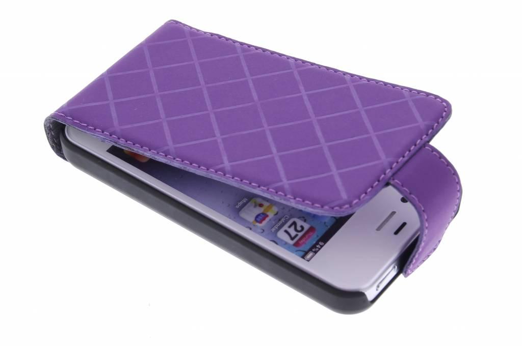 Valenta Flip Case Neo voor de iPhone 4 / 4s - Violet