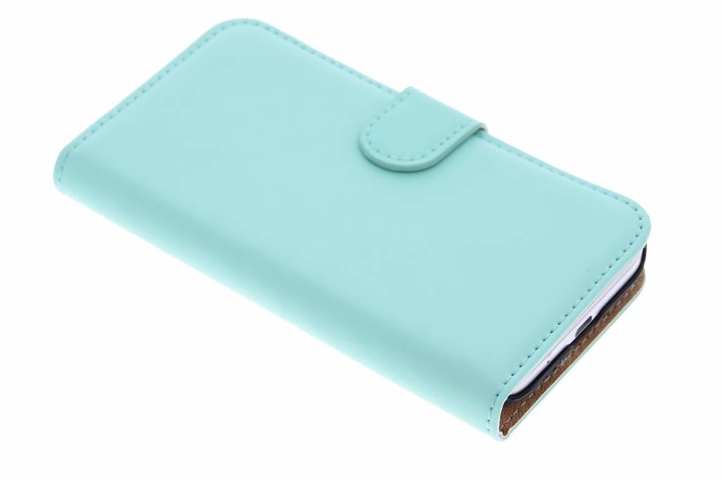 Selencia Luxe Book Case voor de Samsung Galaxy Core Prime - Mintgroen