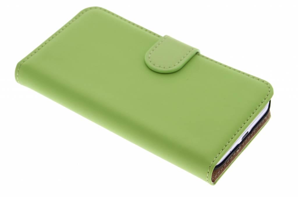 Selencia Luxe Book Case voor de Samsung Galaxy Core Prime - Groen