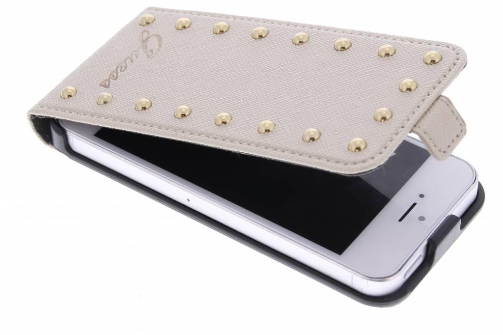 Guess Studded Flip Case voor de iPhone 5 / 5s / SE - Goud