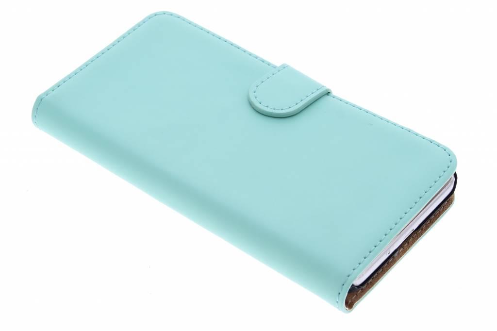Selencia Luxe Book Case voor de Samsung Galaxy Grand Prime - mintgroen