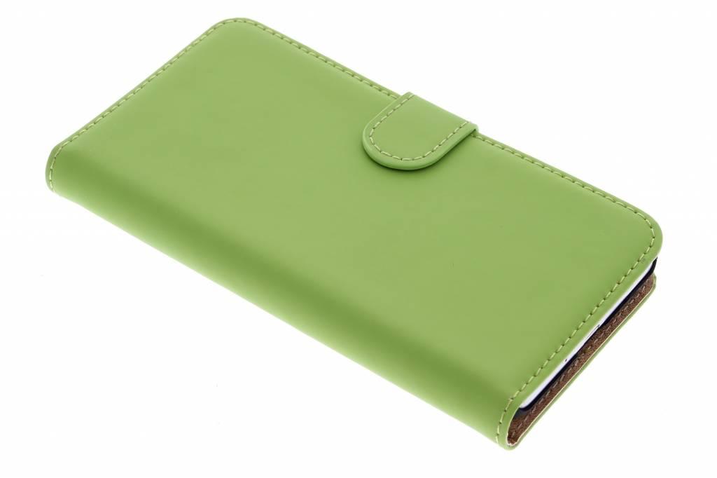 Selencia Luxe Book Case voor de Samsung Galaxy Grand Prime - groen