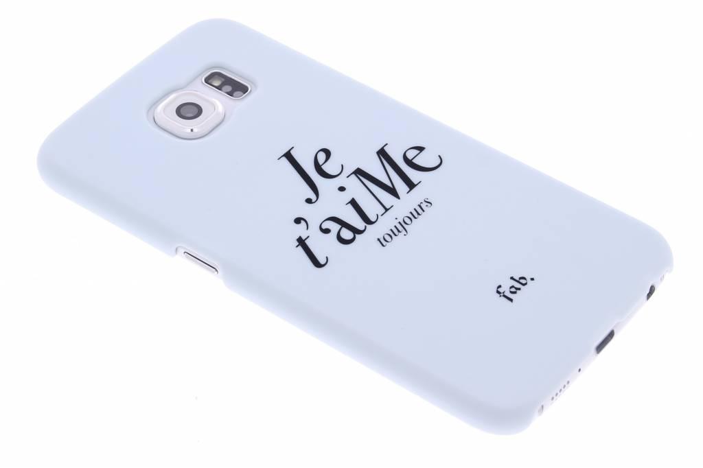 Je t'aiMe hardcase hoesje voor de Samsung Galaxy S6