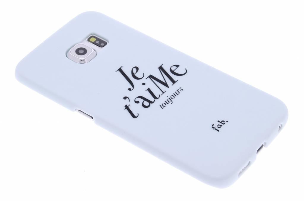Fab. Je t'aiMe hardcase hoesje voor de Samsung Galaxy S6 Edge
