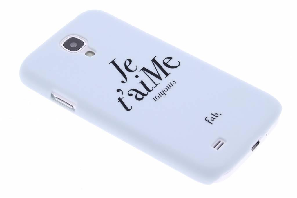 Fab. Je t'aiMe hardcase hoesje voor de Samsung Galaxy S4