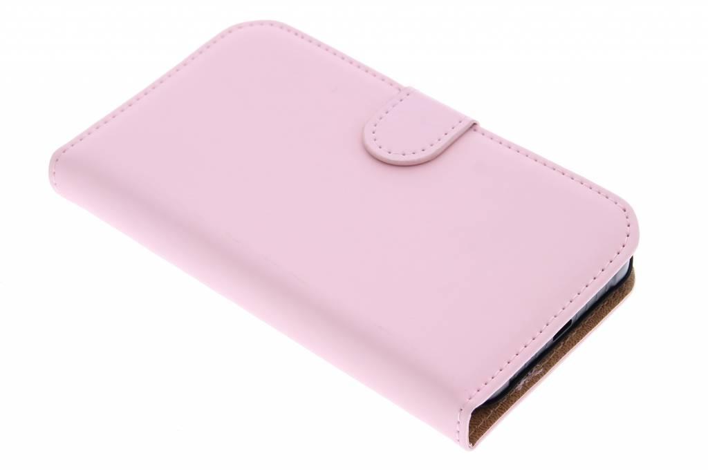 Selencia Luxe Book Case voor de Samsung Galaxy Xcover 3 - Poederroze