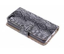 Slangenprint design booktype hoes iPhone 5c