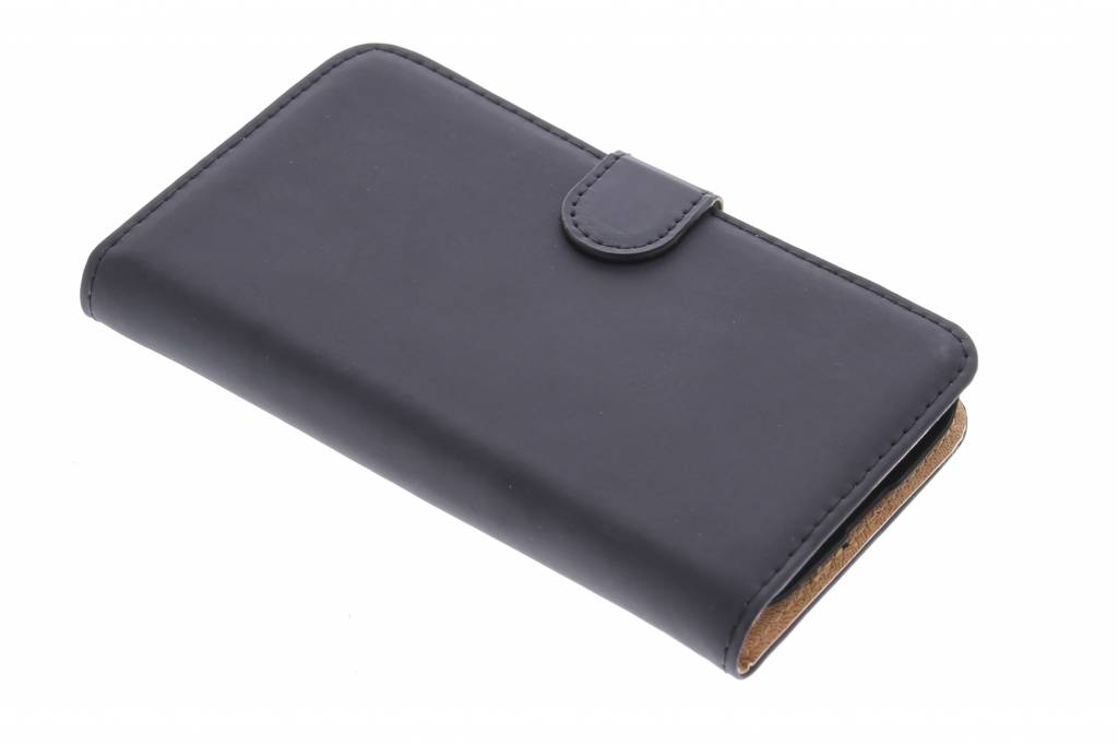 Selencia Luxe Book Case voor de Alcatel One Touch Pop C7 - zwart