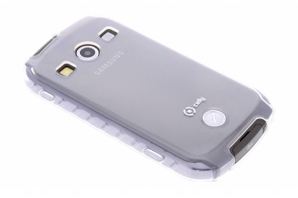 Celly Gelskin Cover voor de Samsung Galaxy Xcover 2 - Transparant