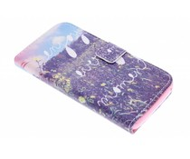 Design TPU booktype hoes Wiko Lenny
