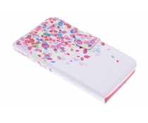 Design TPU booktype hoes Wiko Bloom
