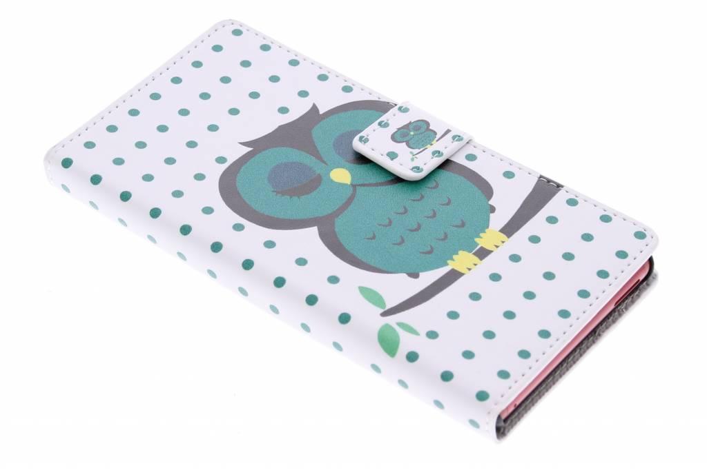 Uil design booktype hoes voor de Sony Xperia M4 Aqua