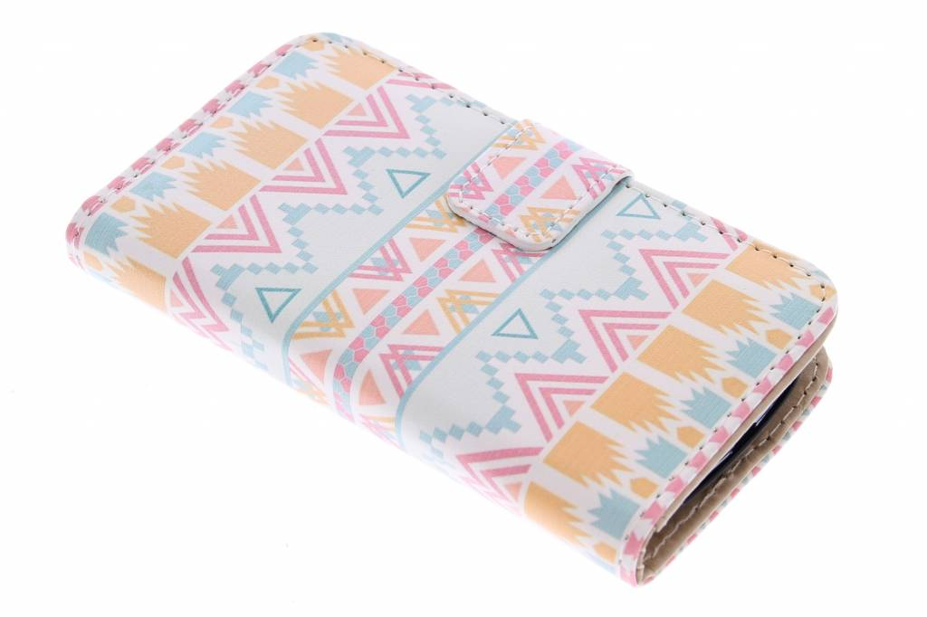 Aztec design booktype hoes voor de Samsung Galaxy S3 Mini