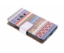 Design TPU booktype hoes Samsung Galaxy Xcover 3