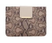 SuperTrash Tablet Case Allis iPad 2 / 3 / 4 - Natural Snake & Pale Gold