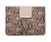 Tablet Case Allis iPad 2 / 3 / 4 - Natural Snake & Pale Gold