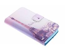 Design TPU booktype hoes Wiko Goa