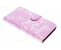 Roze glamour design booktype LG Magna / G4c