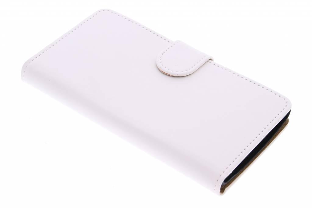 Witte effen booktype hoes voor de LG Magna / G4c