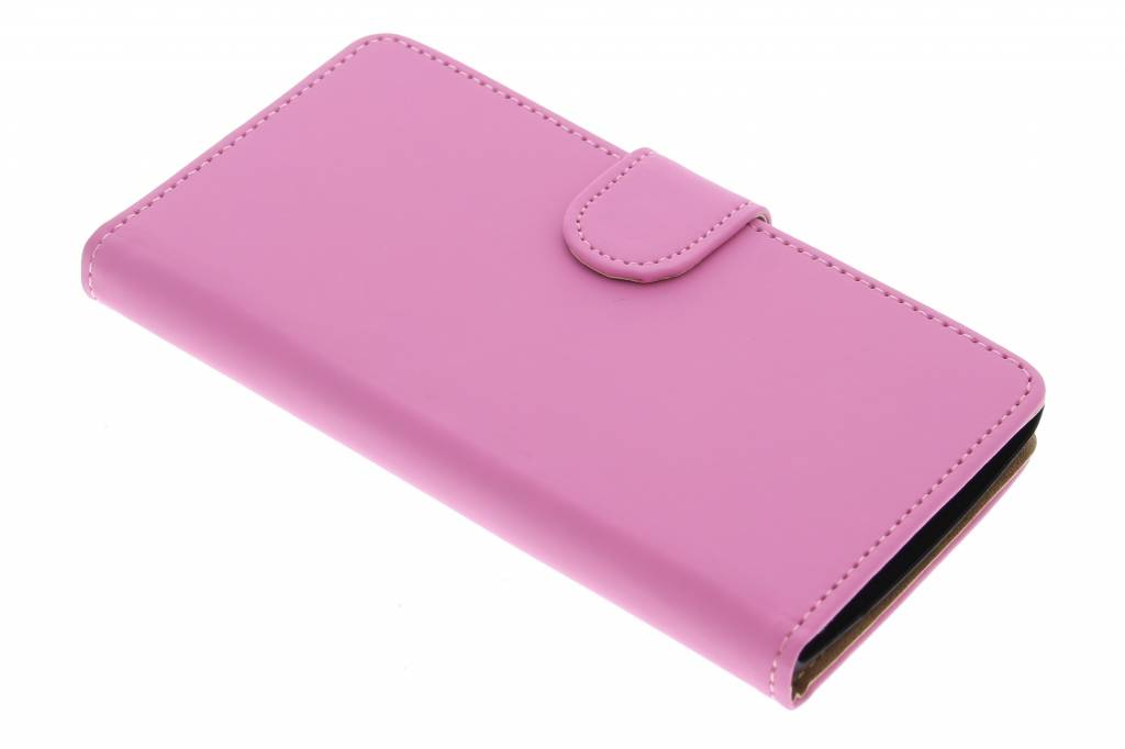 Roze effen booktype hoes voor de LG Magna / G4c