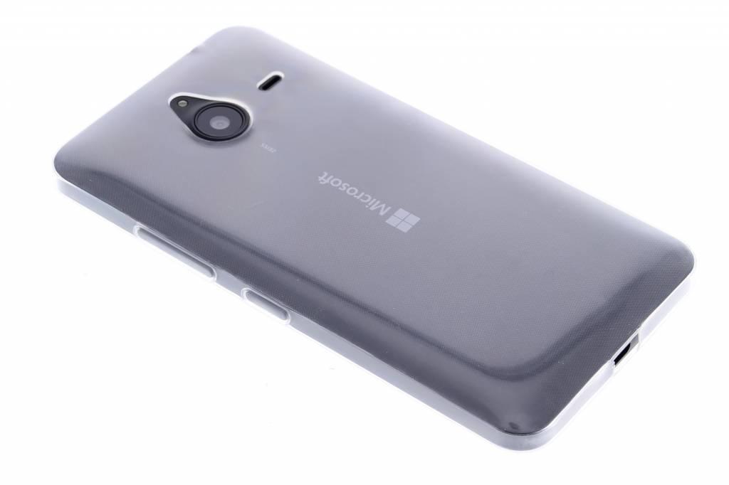 Ultra thin transparant TPU hoesje voor de Microsoft Lumia 640 XL